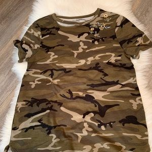 Army colored blouse